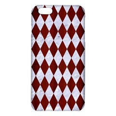 Diamond1 White Marble & Red Wood Iphone 6 Plus/6s Plus Tpu Case by trendistuff