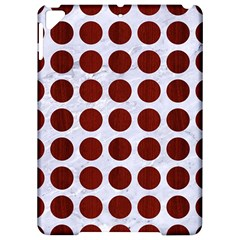 Circles1 White Marble & Red Wood (r) Apple Ipad Pro 9 7   Hardshell Case by trendistuff