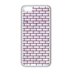 Brick1 White Marble & Red Wood (r) Apple Iphone 5c Seamless Case (white) by trendistuff