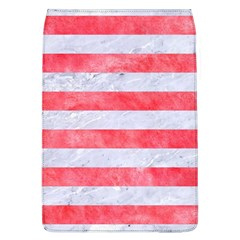 Stripes2white Marble & Red Watercolor Flap Covers (l)  by trendistuff