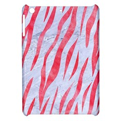 Skin3 White Marble & Red Watercolor (r) Apple Ipad Mini Hardshell Case by trendistuff