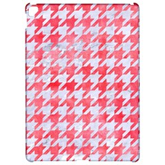 Houndstooth1 White Marble & Red Watercolor Apple Ipad Pro 12 9   Hardshell Case by trendistuff