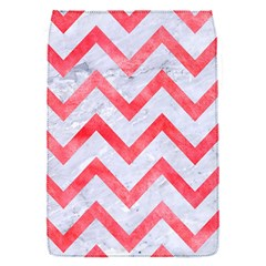 Chevron9 White Marble & Red Watercolor (r) Flap Covers (s)  by trendistuff