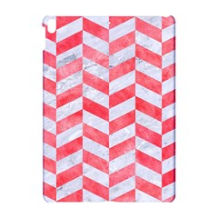 Chevron1 White Marble & Red Watercolor Apple Ipad Pro 10 5   Hardshell Case by trendistuff
