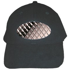 3d Abstract Pattern Black Cap by Sapixe