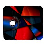 3d And Abstract Galaxy S3 (Flip/Folio) Front