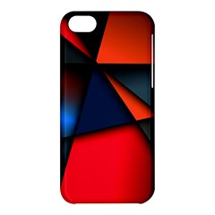 3d And Abstract Apple Iphone 5c Hardshell Case by Sapixe