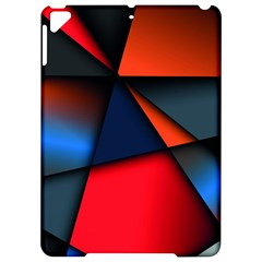 3d And Abstract Apple Ipad Pro 9 7   Hardshell Case by Sapixe