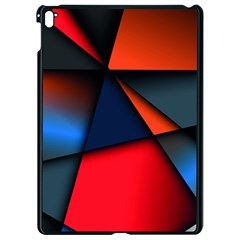 3d And Abstract Apple Ipad Pro 9 7   Black Seamless Case