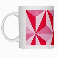 3d Pattern Experiments White Mugs