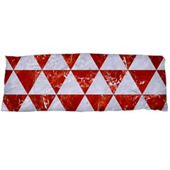 Triangle3 White Marble & Red Marble Body Pillow Case Dakimakura (two Sides) by trendistuff