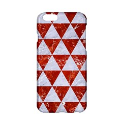 Triangle3 White Marble & Red Marble Apple Iphone 6/6s Hardshell Case