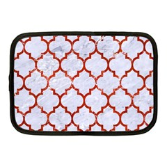 Tile1 White Marble & Red Marble (r) Netbook Case (medium)  by trendistuff