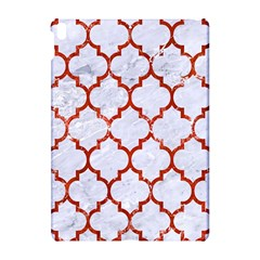 Tile1 White Marble & Red Marble (r) Apple Ipad Pro 10 5   Hardshell Case by trendistuff