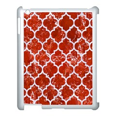 Tile1 White Marble & Red Marble Apple Ipad 3/4 Case (white) by trendistuff