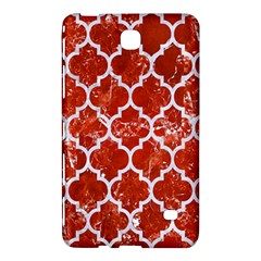 Tile1 White Marble & Red Marble Samsung Galaxy Tab 4 (8 ) Hardshell Case  by trendistuff