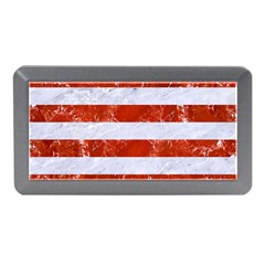 Stripes2white Marble & Red Marble Memory Card Reader (mini) by trendistuff