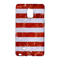 Stripes2white Marble & Red Marble Galaxy Note Edge by trendistuff