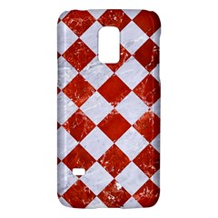 Square2 White Marble & Red Marble Galaxy S5 Mini by trendistuff