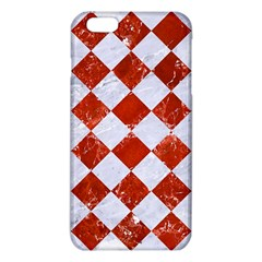 Square2 White Marble & Red Marble Iphone 6 Plus/6s Plus Tpu Case by trendistuff
