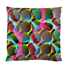 3d Pattern Mix Standard Cushion Case (two Sides) by Sapixe