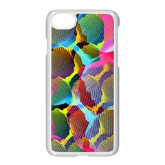 3d Pattern Mix Apple Iphone 8 Seamless Case (white) by Sapixe