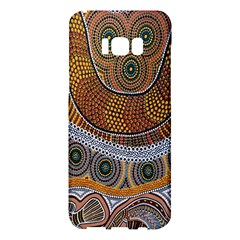 Aboriginal Traditional Pattern Samsung Galaxy S8 Plus Hardshell Case