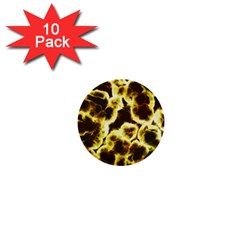 Abstract Pattern 1  Mini Buttons (10 Pack)  by Sapixe