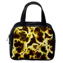 Abstract Pattern Classic Handbags (one Side)