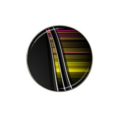 Abstract Multicolor Vectors Flow Lines Graphics Hat Clip Ball Marker