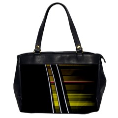 Abstract Multicolor Vectors Flow Lines Graphics Office Handbags