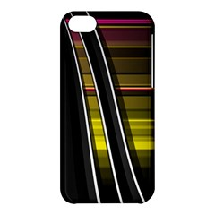 Abstract Multicolor Vectors Flow Lines Graphics Apple Iphone 5c Hardshell Case