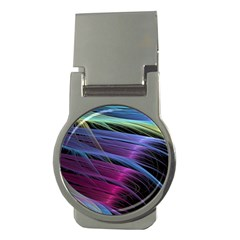 Abstract Satin Money Clips (round)