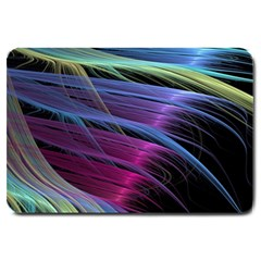 Abstract Satin Large Doormat