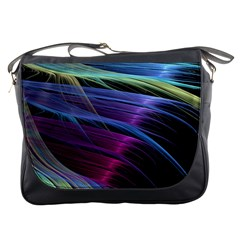 Abstract Satin Messenger Bags