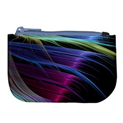 Abstract Satin Large Coin Purse