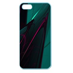Abstract Green Purple Apple Seamless Iphone 5 Case (color) by Sapixe