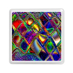 Abstract Digital Art Memory Card Reader (square)  by Sapixe