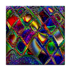 Abstract Digital Art Tile Coasters