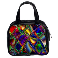 Abstract Digital Art Classic Handbags (2 Sides) by Sapixe