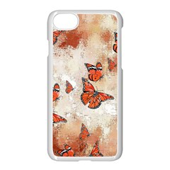 Adorable Butterflies, Terra Apple Iphone 8 Seamless Case (white)