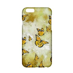 Adorable Butterflies, Yellow Apple Iphone 6/6s Hardshell Case by MoreColorsinLife