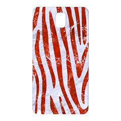 Skin4 White Marble & Red Marble Samsung Galaxy Note 3 N9005 Hardshell Back Case