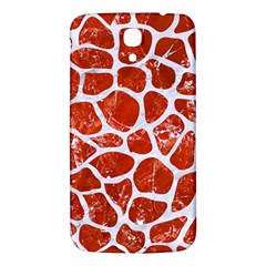 Skin1 White Marble & Red Marble (r) Samsung Galaxy Mega I9200 Hardshell Back Case by trendistuff