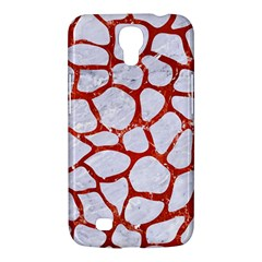 Skin1 White Marble & Red Marble Samsung Galaxy Mega 6 3  I9200 Hardshell Case by trendistuff