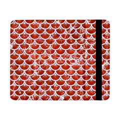 Scales3 White Marble & Red Marble Samsung Galaxy Tab Pro 8 4  Flip Case by trendistuff