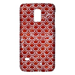 Scales2 White Marble & Red Marble Galaxy S5 Mini
