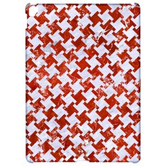 Houndstooth2 White Marble & Red Marble Apple Ipad Pro 12 9   Hardshell Case by trendistuff