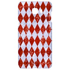 Diamond1 White Marble & Red Marble Samsung C9 Pro Hardshell Case  by trendistuff
