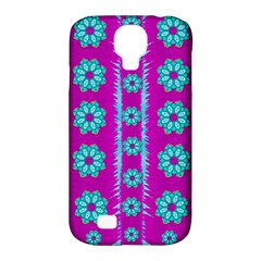 Fern Decorative In Some Mandala Fantasy Flower Style Samsung Galaxy S4 Classic Hardshell Case (pc+silicone) by pepitasart